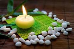 Meditation  در مورد مراقبه candle