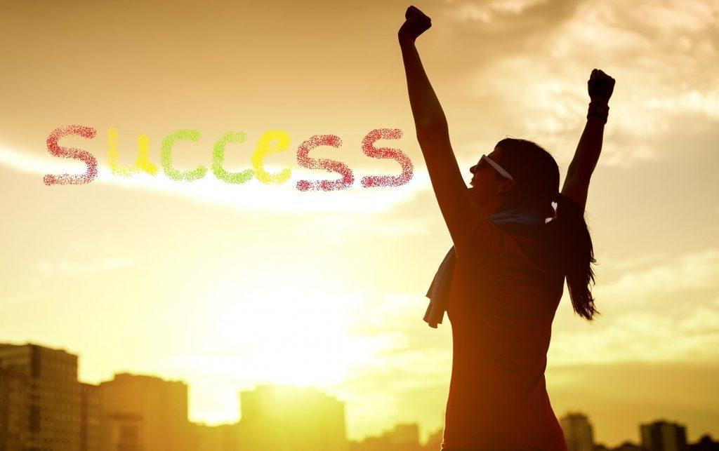 success woman