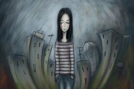 depression اختلال تاثیرپذیری فصلی و علائم آن اختلال تاثیرپذیری فصلی و علائم آن depression