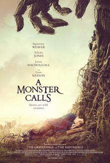 یک هیولا صدا می زند پیشنویس خودکار معرفی فیلم؛ يک هیولا صدا می زند A Monster Calls poster
